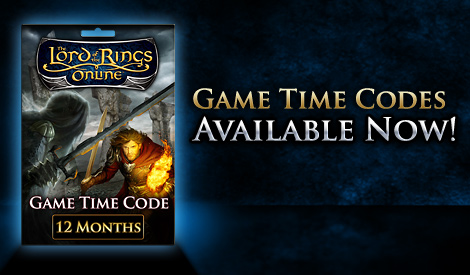 The Lord of the Rings Online™ 12-Month Game Time Card