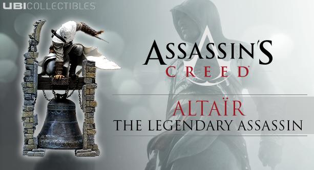 ASSASSIN'S CREED® : ALTAÏR : THE LEGENDARY ASSASSIN - Figurine