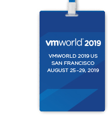 VMworld 2019 US Full Conference Pass