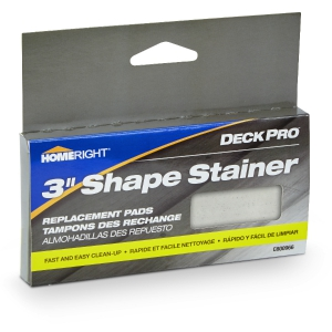Deck Pro 3 inch Shape Stainer Replacement Pads