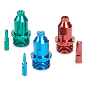 Spray Tip Set for Finish Max Super (Red, Green & Blue)