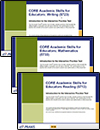 Value Pack: Core Academic Skills for Educators (5713, 5723, 5733), 90-Day Subscription