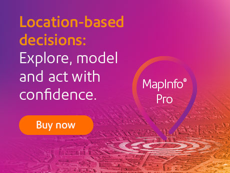 Click here to buy the newest version of MapInfo Pro!